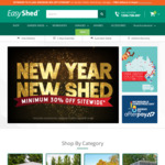 Minimum 30% off Storewide @ EasyShed