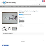DJI Mavic Air Fly More Combo $1193.93 @ T-Dimension (Price Match at Officeworks for $1134)
