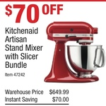 KitchenAid Artisan Stand Mixer KSM150 with Shredder Attachment $579 @ Costco (Membership Required)