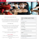 Fitness First - Free 7 Day Pass (April 1-7th)