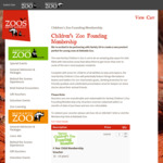 [SA] Adelaide Zoo 5-Year Child Founding Membership (0-14 Year Olds) $160 @ Zoos South Australia