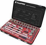 ToolPRO 60 Piece Socket Set - 1/2 inch Drive, Metric / Imperial $89.78 + Shipping or Store Pickup @ Supercheap Auto (Online)
