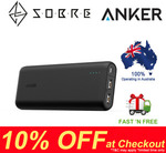 Anker PowerCore 20100mAh 2 USB Ports Power Bank $66.30 Delivered @ SOBRE eBay Store