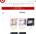 50% off Tontine Pillows @ Target