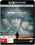 Saving Private Ryan  Blu-Ray $10/ 4K Ultra HD + Blu-Ray $16.99 + Delivery (Free with Prime/ $49 Spend) @ Amazon AU