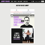 Win 6 Months of Free Jimmy Brings ($1,800) + Your Chance to Have Your Face on a Jimmy Brings Van from Jimmy Brings