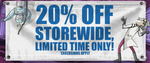 20% off Winter Flash Sale ($7 Shipping or Free for Order over $50) @ Madman Entertainment