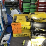 "[NSW] Stanley 37 Piece 1/4"" Socket Set $19.95 @ Bunnings Warehouse Warrawong"