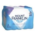 Mount Franklin Spring Water 20x500mL $5.50 (VIC, WA, TAS), $7.75 (ACT, NSW, QLD, SA, NT) @ Coles