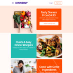$30 Voucher ($15 off The First Order and $15 off The Third Order) @ Dinnerly