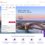 Up to 10% off Flights to Hong Kong, Australia Domestic and Trans-Tasman Flight @ Virgin Australia