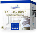 Snuggledown 90% Hungarian Goose Down All Season Quilt: King $335.98, Queen $311.98 Delivered @ Dhimanvinod eBay