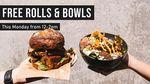 [QLD] Free Rolls & Bowls, 12-2pm 23/9 @ City Winery (Brisbane)