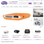 BenQ Refurbished Projectors (Business/Home Theater Projector/4K) from $299- $3999 Direct from BenQ (W1700, X12000, W1090, MW632S