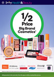 1/2 Price All Ecotools, Lip Smacker, Manicare, Maybelline, Revlon, Rimmel, Sally Hansen, Selected Aveeno @ Woolworths