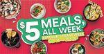 [VIC] $5 Meals All Week at Select CBD Venues via Eatclub (Melbourne)