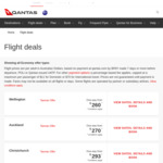 Qantas Return Flights from Sydney ⇄ Santiago (South America) from $1049 and More