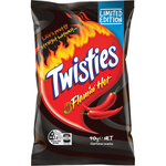 Limited Edition Flamin' Hot Twisties 90g $1.50 (25% off) @ Woolworths