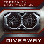 Win an MSI Radeon RX 5700 Mech OC Graphics Card from PC Case Gear