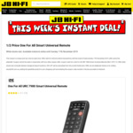 1/2 Price One For All URC 7980 Smart Universal Remote $64.97 + Delivery (Free C&C) @ JB Hi-Fi