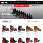 Up to 25% off R.M. Williams @ Hype DC
