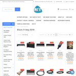 [VIC] KCs Rockshop Black Friday - 70% off Asterope Cables, up to 40% off Selected Instruments