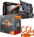 Ryzen 5 3500X & Gigabyte B450 AORUS M Motherboard Combo $340 + Delivery @ CGB Solutions