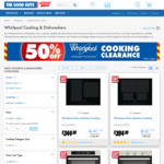 Whirlpool 60cm Electric Oven $294 (Was $588) | + More @ The Good Guys (Limited Stock)
