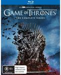 Game of Thrones: Seasons 1-8 Box Set Blu-Ray $132.20 @ JB Hi-Fi