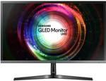 "Samsung 28"" LU28H750UQEXXY 4K UHD Quantum Dot FreeSync Monitor $399 Delivered ($379 with mVIP membership) @ Mwave"