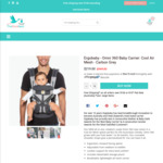 Ergobaby Omni 360 Cool Air Mesh Carbon Grey $219 Shipped @ The Stork Nest