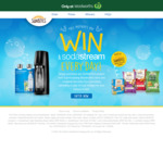 Win a SodaStream & Sunbites Pack When You Purchase Sunbites Product from Woolworths