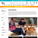 Savourlife Grain-Free Dog Food 10kg $62.55 (Was $91.99) @ Pet House