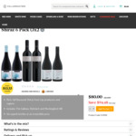 Shiraz 6 Pack (3x2) $80 delivered (save $94.48) @ Cellarmasters