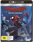 Spider-Man: Into The Spider-Verse (4K UHD) $12.50 @ Big W & Amazon AU