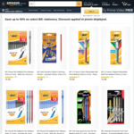 Save up to 50% in Select BIC Stationery + Delivery ($0 with Prime / $39 Spend) @ Amazon Australia.