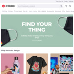 15% off RedBubble Order
