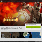 [PC] Total Annihilation: Commander Pack Free for The Next 48 Hours [GOG.COM]