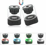 Rimposky Magnetic Bluetooth Speakers (2 Pack) $35.99 Delivered @ Ottertooth Direct via Amazon