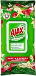 Ajax Eco Multipurpose Antibacterial Wipes Vanilla/Berries or Lavender/Rosemary 110pk $5/$4.50 (S&S) + Post ($0 Prime) @ Amazon