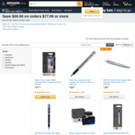 $30 off on Pen/Ink Orders of $77 or More + Delivery ($0 with Prime) @ Amazon US via AU