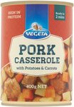 Vegeta Pork Casserole with Potatoes and Carrots 400g $0.99 (Min Qty 3) + Delivery ($0 w/ Prime / $39 Spend) @ Amazon AU