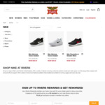 Nike Womens Todos Sneaker $39 Nike Revolution 4 Sneaker Mens $79 + Many More + Delivery ($2 > $40 / $0 over $100 Spend) @ Rivers