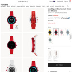 Fossil Sport Smartwatch $149.50 Shipped @ Fossil