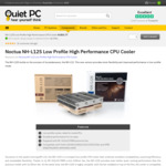 Noctua NH-L12S Low Profile CPU Cooler $65.77 + $31.62 Delivery @ Quietpc UK