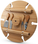 S&P Picnic Wine Tray 33.5cm with Cheese Knives $44 (RRP $120) + Postage @ Peter's of Kensington