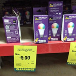 RGB-W Wi-Fi Smart Bulbs Brilliant Smart (Tuya) from $5 in-Store @ Bunnings