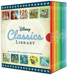 Disney Classics Library Box Set: 10 Books for $20 (49% off RRP $39.99) + More, free delivery via eBay or C&C in-store @ BIG W