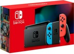 Nintendo Switch Console - Neon $399 (Save $70) C&C /+ Delivery @ BIG W