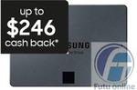"Samsung 2.5"" 870 QVO SATA SSD 1TB $118.15 ($102.15 after CB), 2TB $254.15 ($228.15 after CB) Delivered @ Futu Online eBay"